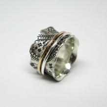 Paisley Spinner Ring