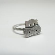 Custom Hippo Ring