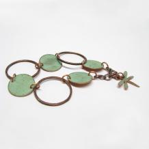 Copper Circles Bracelet