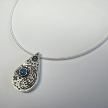 Paisley Hollow Formed Pendant